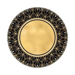 1920s Hollywood Party Metallic Lunch Plates