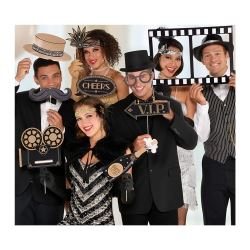 1920s Hollywood Party Photo Prop Selfie Kit