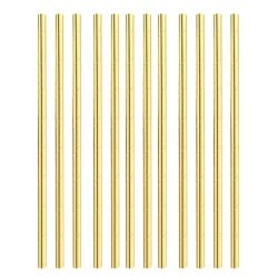 Gold Paper Party Straws