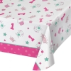 Doodle 1st Birthday Girl Party Tablecover