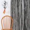 Ginger Ray Black Metallic Fringe Curtain Decoration