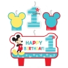 Disney Mickey Mouse Fun To Be One Party Candles