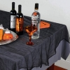 Halloween Black Cheesecloth Tablecover