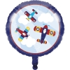 Lil Flyer Airplane Foil Party Balloon