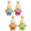 Bunny Rabbit Party Favour Erasers PK 10