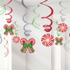 Candy Cane Party Swirls