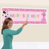 Disney Minnie Mouse Fun At One Personalised Party Giant Banner