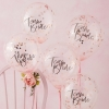 Team Bride Floral Party Confetti Balloons