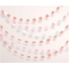 Rose Gold Blush Decorating Dot Garlands