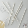 Ginger Ray Silver Foiled Star Party Straws