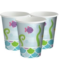 The Little Mermaid Birthday Party Cups.