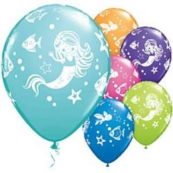 The Little Mermaid Party Balloons.