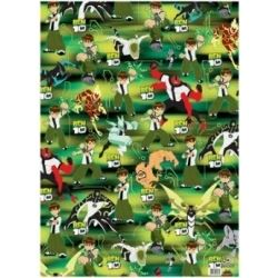 Ben 10  Birthday Party Gift Wrap And Tags