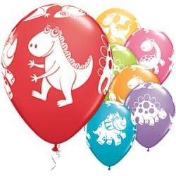 Cute And Cuddley Dinosaur Party Balloons