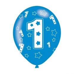 1st Birthday Boy Party Balloons