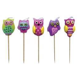 Lovely Chubblies Candle Owls