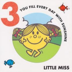 Little Miss Birthday Cards Age 3