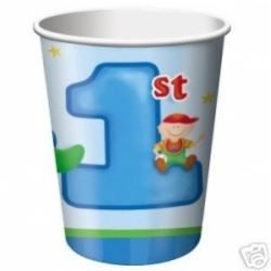 1st Birthday Fun To Be One Boy Party Cups