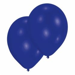 Dark Blue Latex Party Balloons